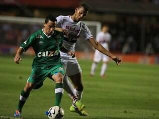 Souza disse que São Paulo não conseguiu furar a retranca da Chapecoense