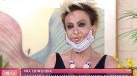Ana Maria dá esporro em produção