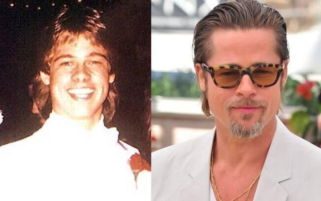 Brad Pitt antes e depois