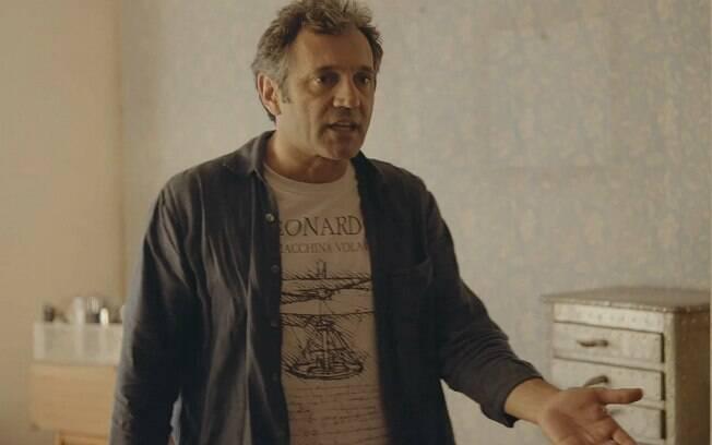 O ator Domingos Montagner em cena do filme