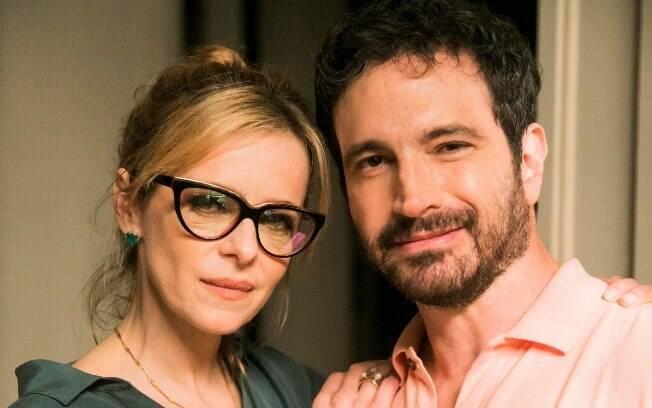 Maria Luísa Mendonça e Caco Ciocler farão um casal com problemas familiares em