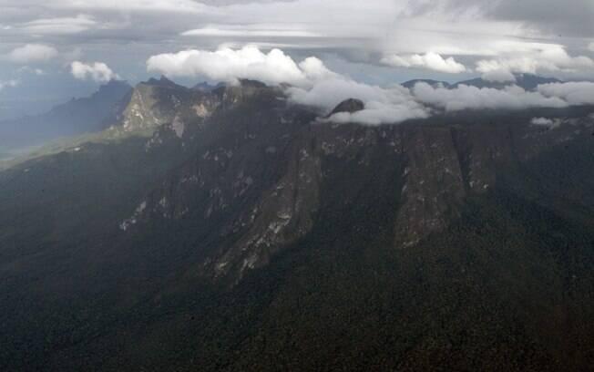 Com quase três mil metros de altitude, o Pico da Neblina fica próximo à fronteira com Colômbia e Venezuela