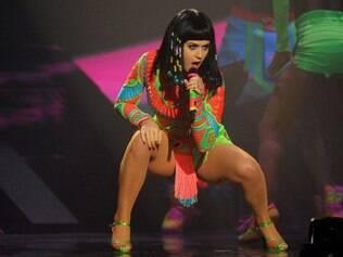 Katy Perry concorre em cinco categorias e seu novo single