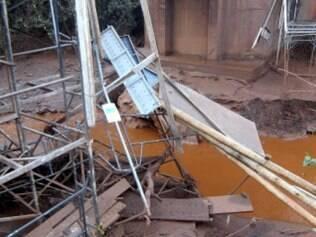 Mineradora Herculano, em Itabirito, onde aconteceu acidente que deixou mortos e feridos - Alex de Jesus/O Tempo - 10/9/2014