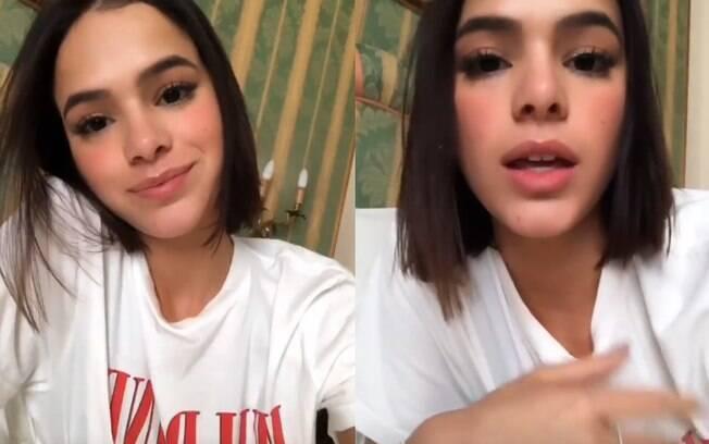 Bruna Marquezine fala sobre comentários negativos de fãs sobre seu corpo