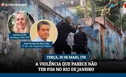 Especialistas discutem realidade de violência no Rio
