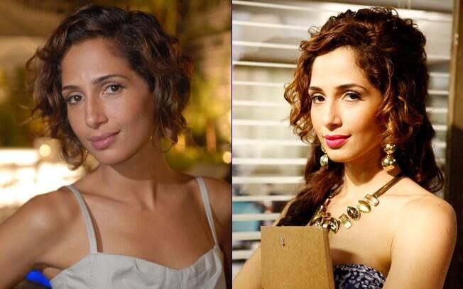 As duas faces de Camila Pitanga: Carol (Insensato Coração) e Kelly (A Grande Família)