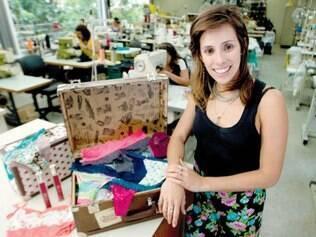 Criação. Dona da marca, Luiza Borges idealiza as peças e quis criar uma conexão entre as cores da praia e os próprios acabamentos