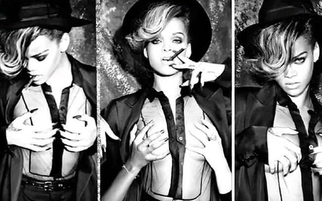 Gravadora divulga fotos do ensaio oficial do novo álbum de Rihanna