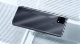 Realme C25 é o celular com a melhor bateria do Brasil