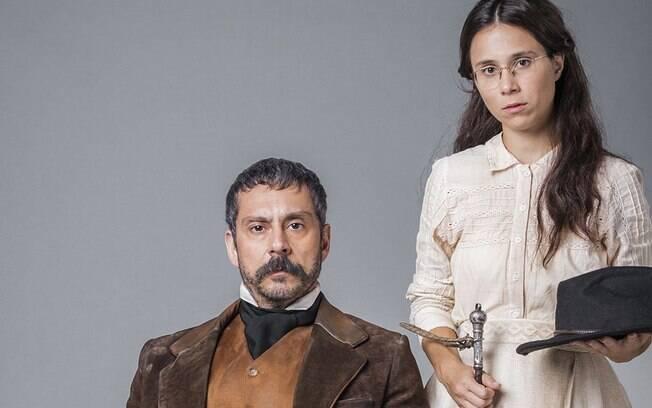 Nos Tempos do Imperador: Após covardia de Pilar, Dolores vive inferno com Tonico, mas encontra amor proibido