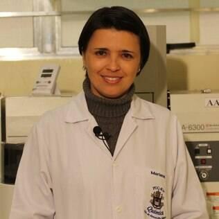 A premiada cientista Mariana Antunes Vieira diz que há mulheres que se incomodam com o jaleco e as unhas
