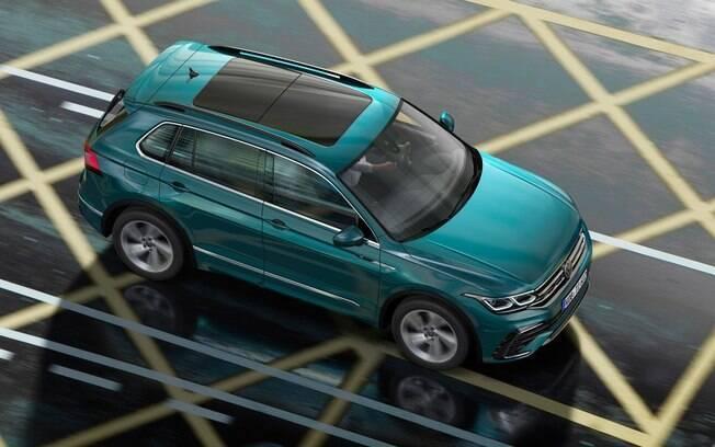 VW Tiguan ganha versão híbrida que poderá ser vendida no Brasil para disputar com futura versão do Compass
