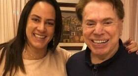 Silvio Santos autoriza retorno de Silvia Abravanel após 6 meses