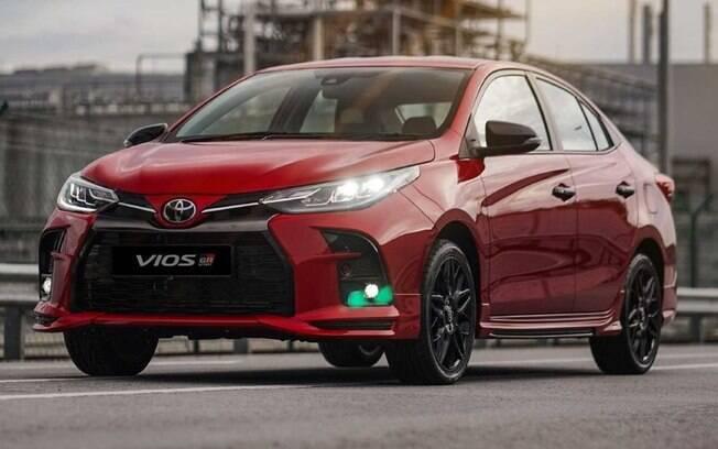 Toyota Yaris Sedan GR-S se chama Vios nos mercados do sudeste asiático