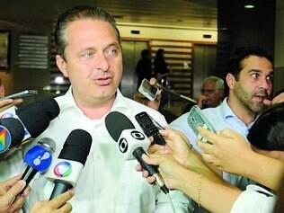 Campanha.   Eduardo Campos estará hoje em Juiz de Fora para a largada da campanha do PSB em Minas