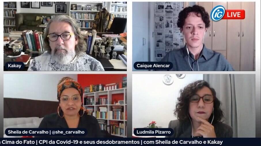 Advogados Kakay e Sheila de Carvalho falaram sobre a CPI da Covid-19 no Senado