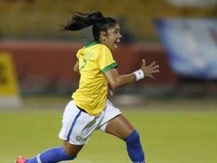 Na última partida, Brasil venceu o Chile por 2 a 0. Maurine marcou um dos gols da vitória canarinho