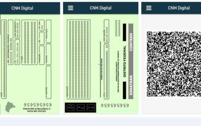 CNH digital na tela do celular tem o mesmo valor jurídico da impressa e sua emissão é opcional