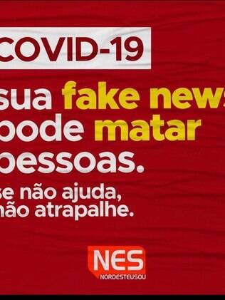 Panfleto informativo sobre covid-19