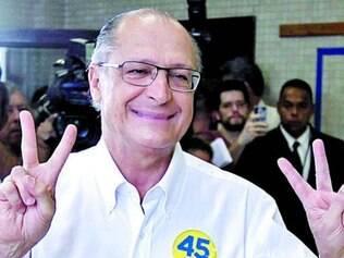 Geraldo Alckmin confia na sua boa votação para liderar o partido