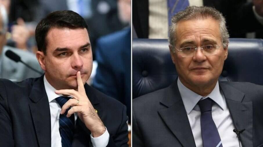 Flávio Bolsonaro pode estar envolvido no escândalo Covaxin, revela Renan Calheiros