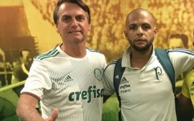 Bolsonaro e Felipe Melo