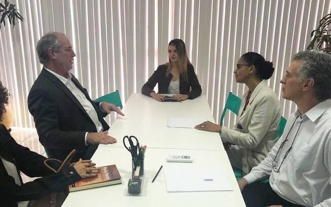 Ciro Gomes e Marina falaram sobre futuro do Brasil, principalmente em relação à defesa da institucionalidade democrática