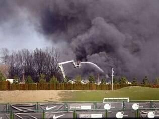Incêndio próximo ao CT do Manchester City