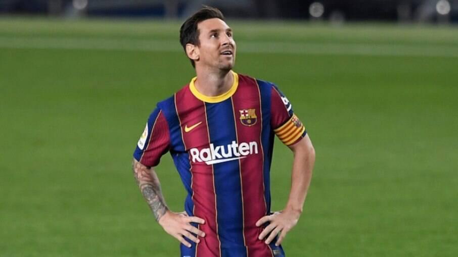 Messi está próximo de deixar o Barcelona