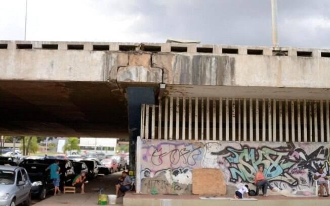 Relatório de 2012 já apontava necessidade de reforma em viaduto que desabou hoje próximo à Galeria dos Estados