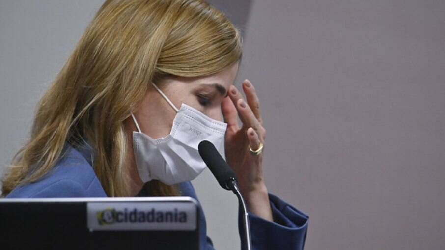 Mayra Pinheiro na CPI da Covid
