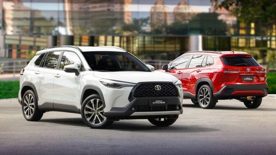 Toyota Corolla Cross: lançado no início do ano, modelo já se destaca nas concessionárias