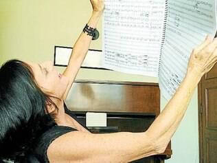 Compositora, Cimbleris faz obras para orquestra e trilhas sonoras