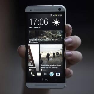 HTC One tem participação importantes no lucros