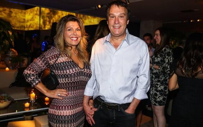 Emilio Zurita e a mulher