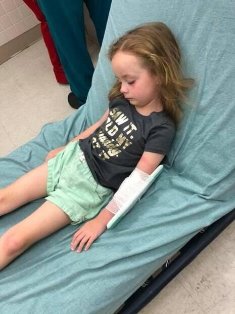 Kailyn Kirk ficou paralisada por 12 horas