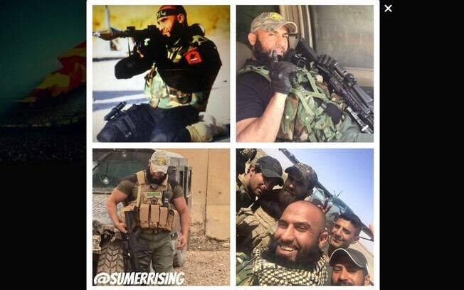 O militante é ovacionado nas redes sociais por sua atuação contra o Estado Islâmico. Foto: Reprodução/Youtube