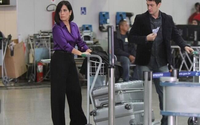 Norma e Léo tentam viajar