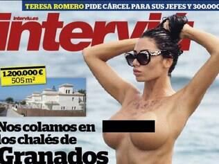 Sérvia estampou capa de revista espanhola