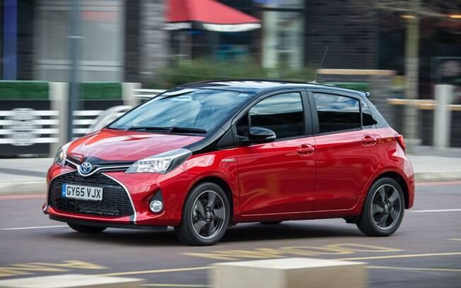 O Yaris, um carro compacto, moderno e econômico, poderá ser uma futura novidade da linha híbrida da Toyota no Brasil