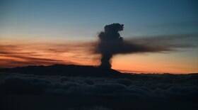 Vulcão pode ter nova erupção, alerta especialista
