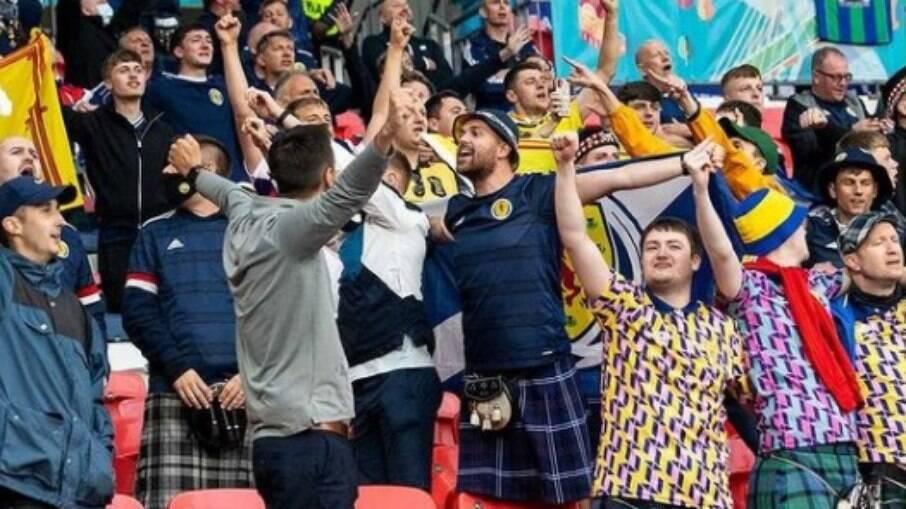 Torcedores da Escócia na Eurocopa