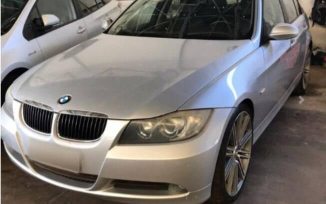 BMW ano 2008 foi apreendida em Uberaba, no Triângulo Mineiro