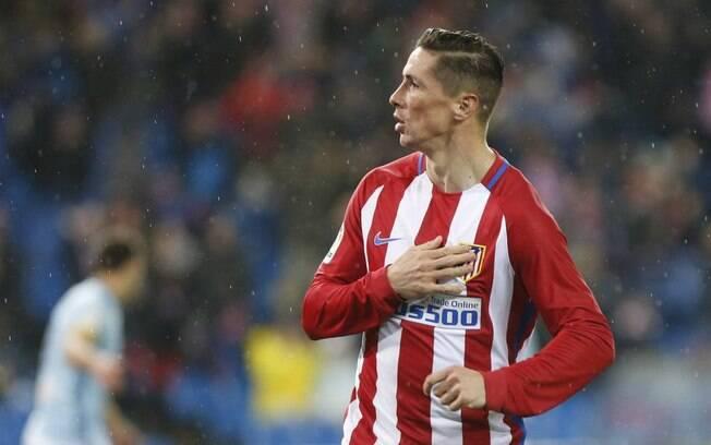 Fernando Torres chegou no Atlético de Madri aos 10 anos de idade