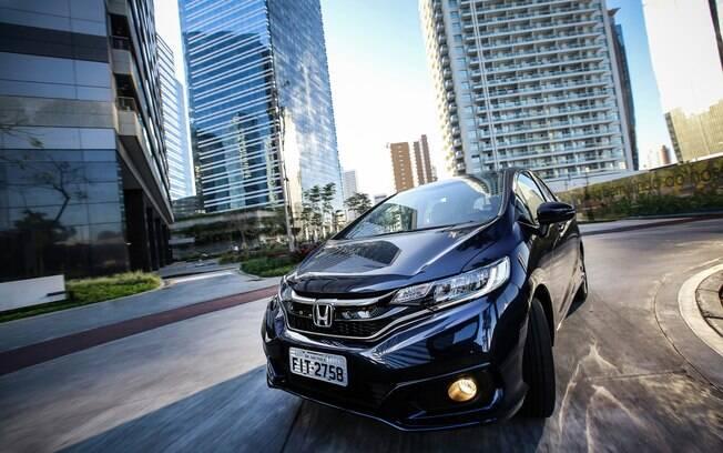 O Honda Fit 2019 abre a lista dos hatches mais gastões disponíveis no mercado brasileiro