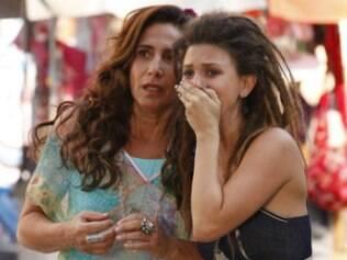 Zambeze conforta Luana após acidente