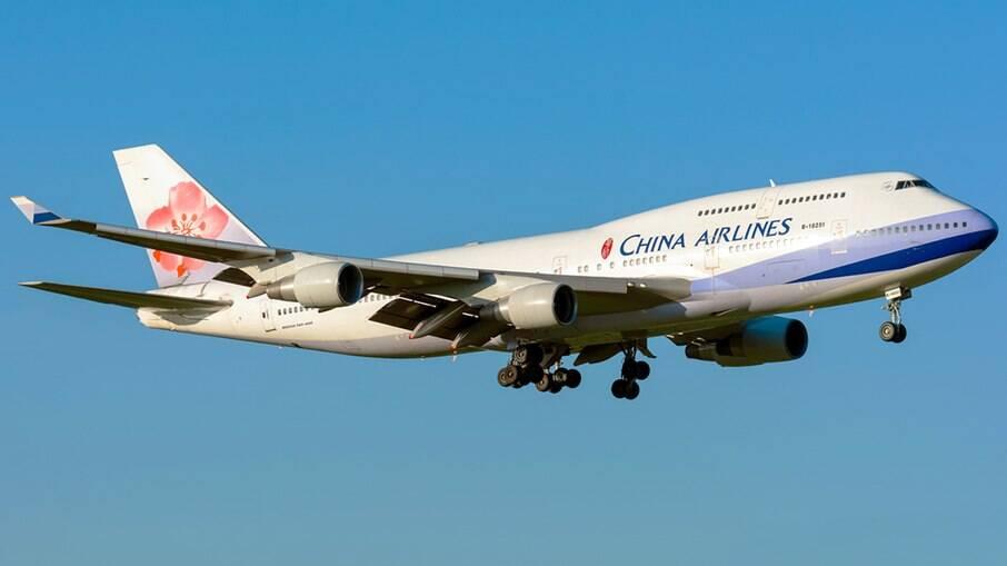 China Airlines aposenta seu último Boeing 747 de passageiros