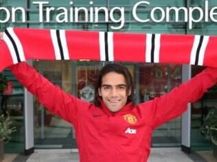 Falcao fechou com o Manchester por uma temporada