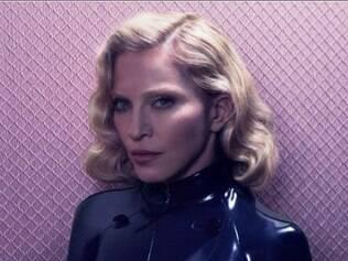 Madonna em ensaio para a revista